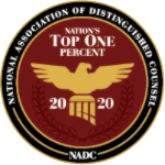 National Assn. of Distinguished Lawyers 2020